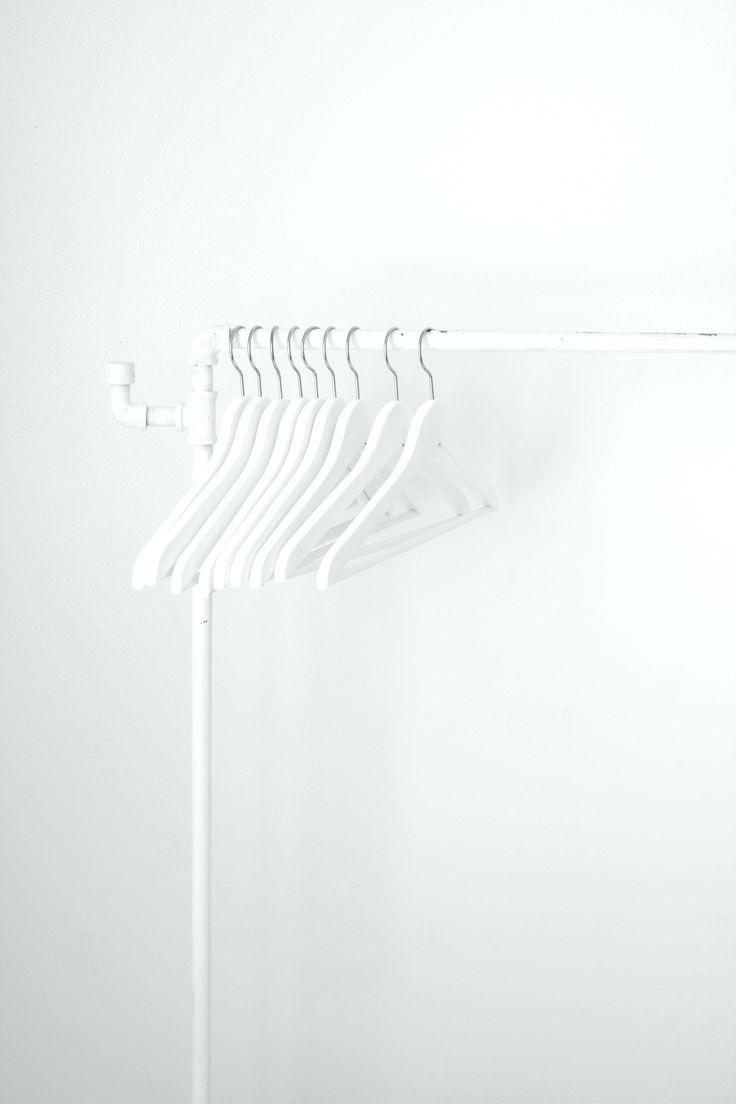 best white coat rack ideas on pinterest  white clothing rack  - coat rack for in the house at wedding