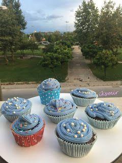 Kremalı Cupcake - Muffin~iksmir'in yeni dünyası