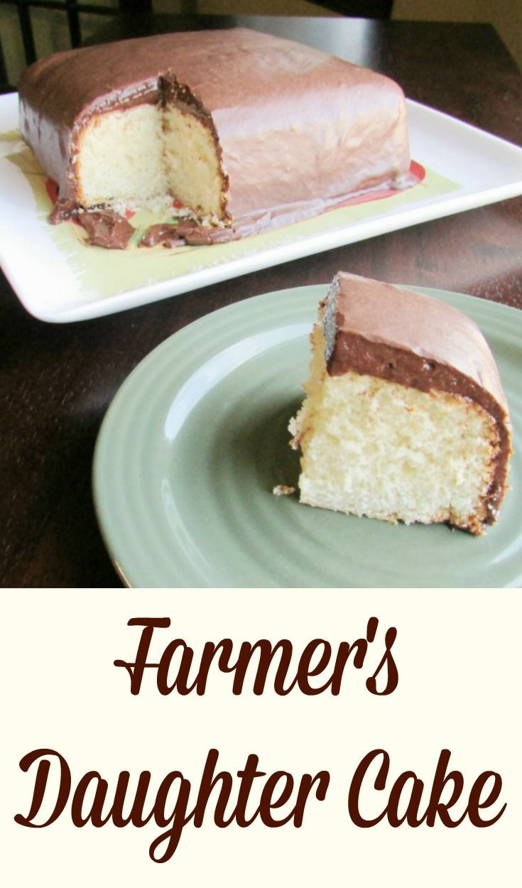 This simple cake is creamy and delicious. The frosting is almost like chocolate pudding. This is a must make cake!