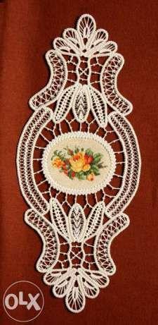 Set de 3 piese laseta macrame pantlas 100cm cu 6 goblene Nou profesion Targu-Mures - imagine 3