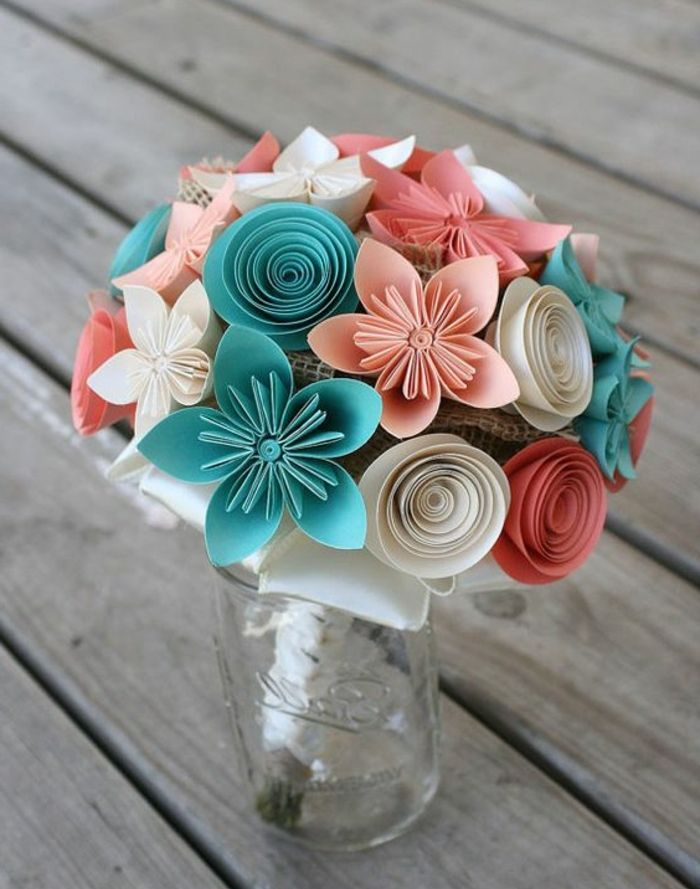 1001 Tutos Et Idees Top Comment Faire Une Fleur En Papier Soi