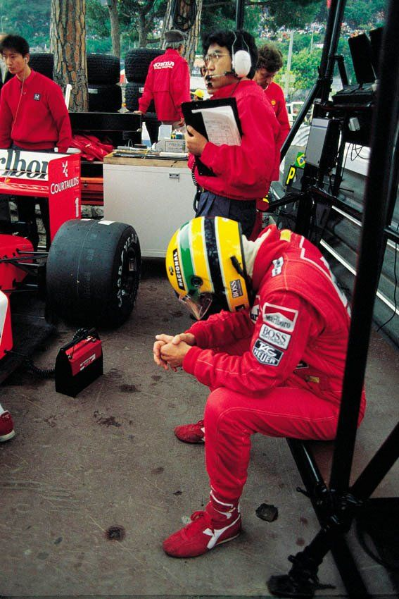 'If you no longer go for a gap that exists, you are no longer a racing driver'  Ayrton Senna - F1 WDC 1988-1990-1991