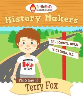 Terry Fox - History Makers - Lesson Packet $