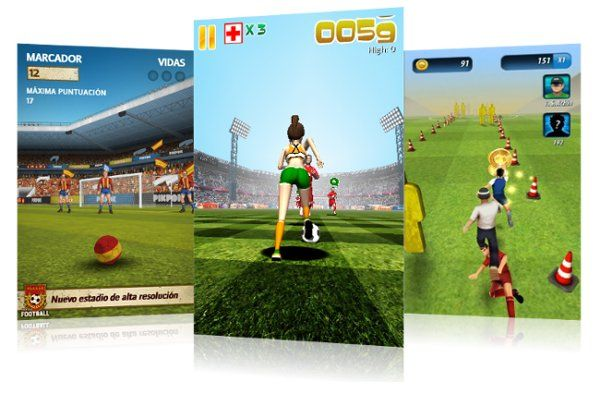 10 juegos de fútbol gratis para móviles y Tablets Android