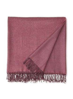 70% OFF Somma Kiev Lambswool Throw, Burgundy, 51