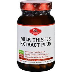 Olympian Labs Milk Thistle Extract Plus 60 Vegetarian Capsules