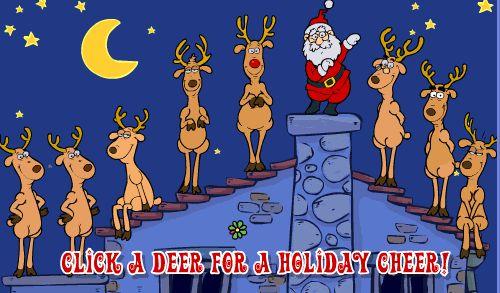 Музыкальные новогодние открытки, поющие олени - Расскажем о Рождестве – не забудем об этом торжестве - Форум-Град