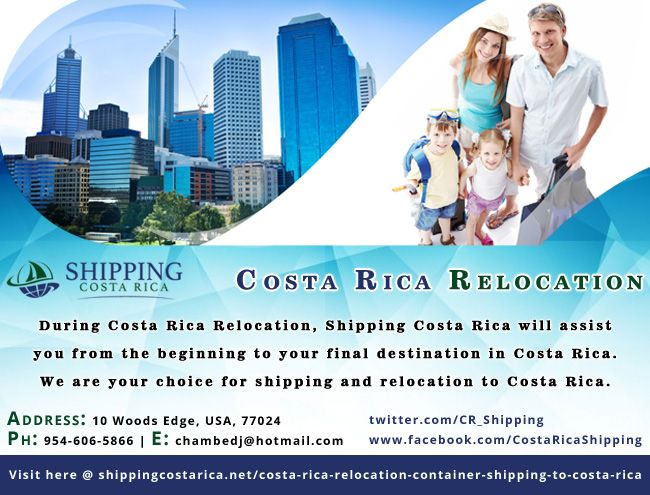 There are some fascinating and arduous tips took after, at whatever point you are making arrangements for delivery things for Costa Rica Relocation. It is not simple, and needs a great deal of devotion from your side