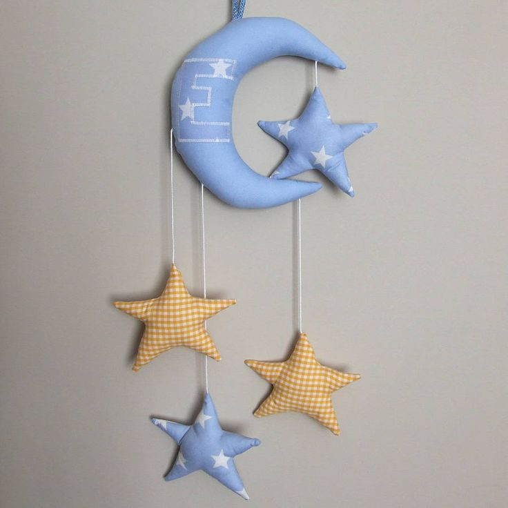 moon and stars mobile by aimee | notonthehighstreet.com