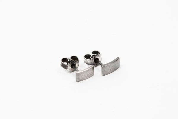 Katrine Nexø Jewellery | VEGA – Earrings, Half oxidized | €78 | ENIITO