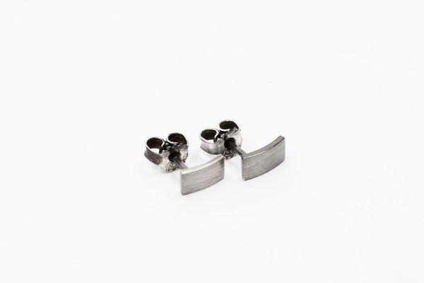 Katrine Nexø Jewellery | VEGA – Earrings, Half oxidized | €78 | ENIITO