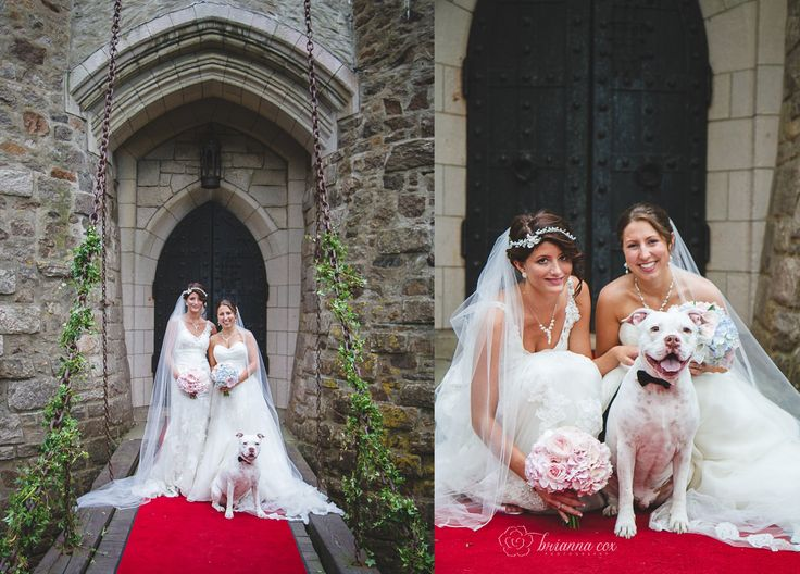 Kristin Lindsay Hammond Castle Brianna Photography Esq Events Wedding Real Weddings Pinterest And