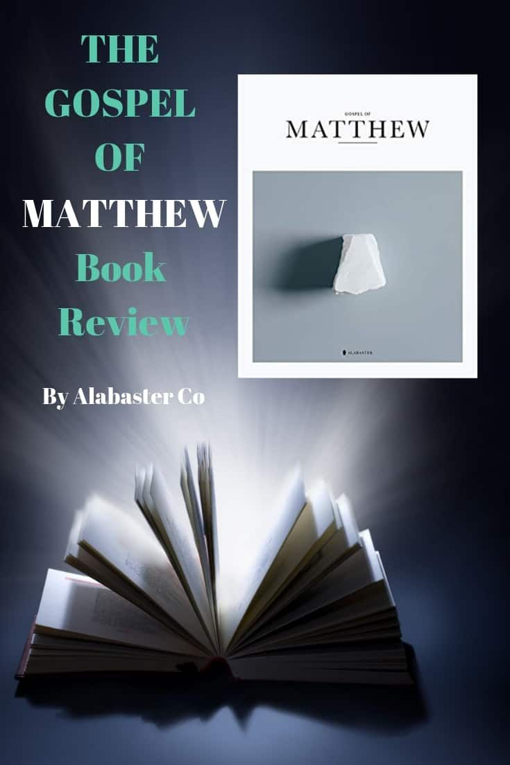 The Gospel Of Matthew Reviewing The Pictorial Bible By Alabaster