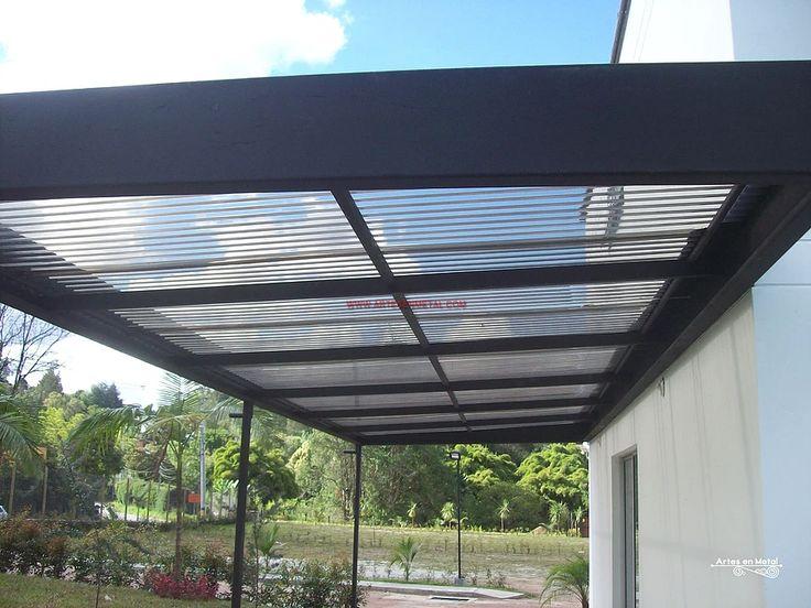 Las 25 mejores ideas sobre pergolas metalicas en - Estructuras metalicas para terrazas ...
