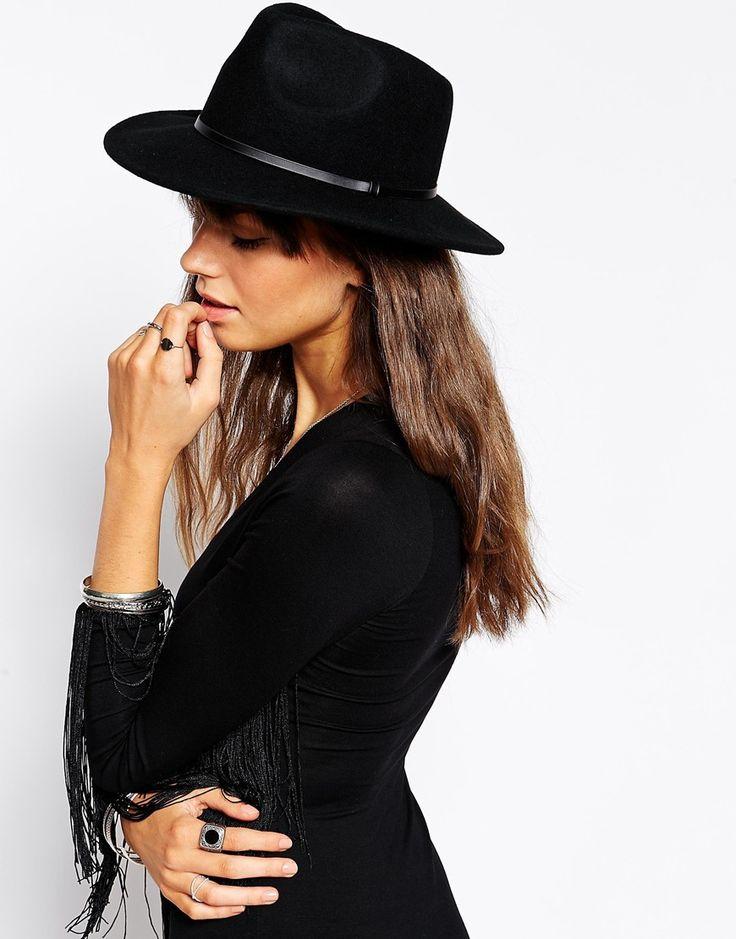 ASOS Felt Panama Fedora Hat