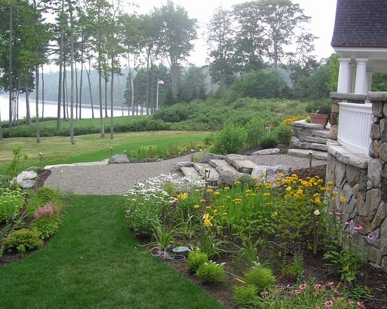 15 best images about landscaping on pinterest fire pits for Waterfront landscape design