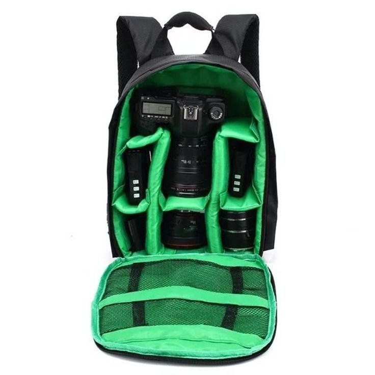 Bag Small DSLR Nikon Canon Camera Backpack for Photographer #CanonCameras