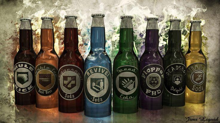 Treyarch Zombie Perk Bottles