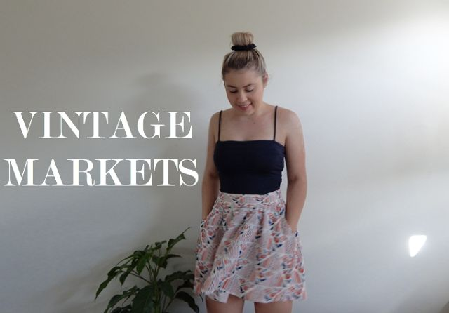 Cheap vintage market pickups... words by Emily Kate