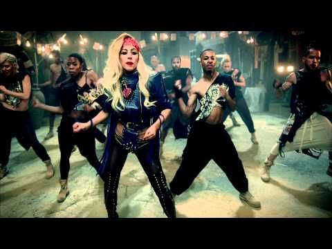 Lady Gaga - Judas - This video is one of Gaga's weakest, with her in bikini tops and trying to be controversial with religion and junk, but the song is really catchy! It's one of my favorites off her latest album.