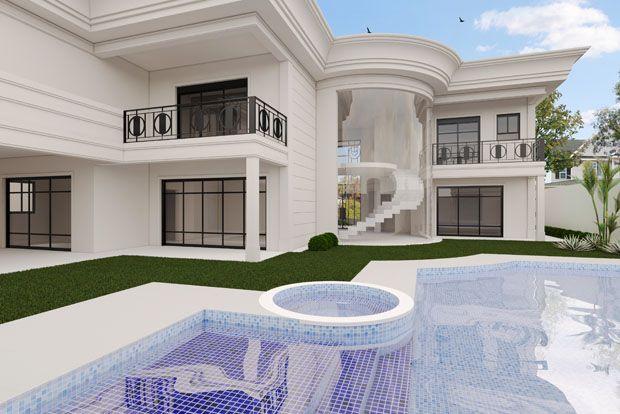 FACHADA REM – CONDOMÍNIO TRIPOLI AMERICANA | Aparecida Covolan - Arquitetura, Urbanismo e Design de Interiores