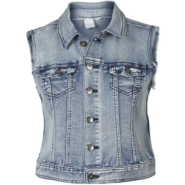 Lace Denim Waistcoat ($38) ❤ liked on Polyvore featuring outerwear, vests, jackets, vest waistcoat, denim lace vest, blue denim vest, lace vest and blue waistcoat