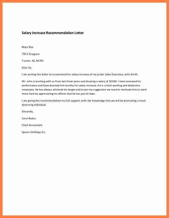 15 salary increase letter to employer