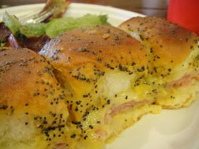 So We Think We Can Cook!: Baked Ham Sandwiches