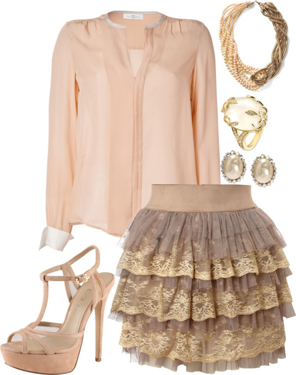 """""""Pink Pearl"""" by eclare887 on Polyvore"""