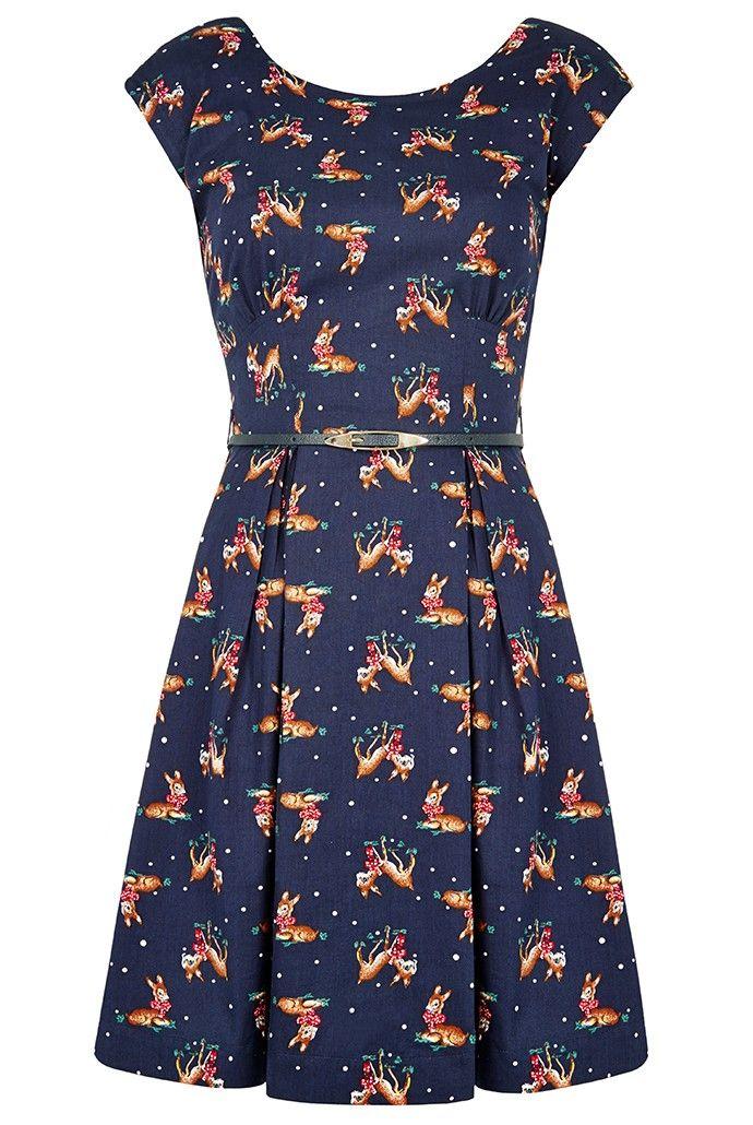 Louche Julita Deer Dress - WANT!