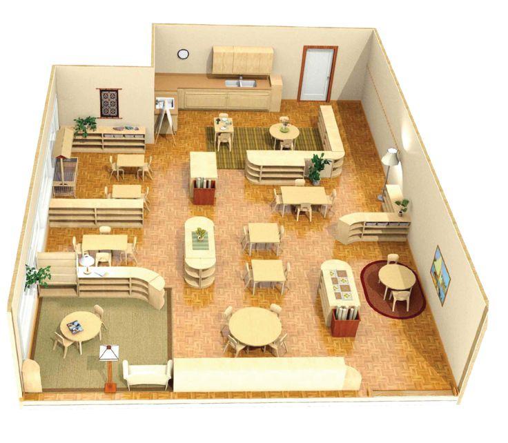 ¿Sabéis cómo es un espacio Montessori?      El ambiente de un salón Montessori está cuidadosamente preparado para que los niños puedan desar...