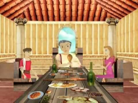 ROMA IMPERIAL material para niños. muchos videos para niños