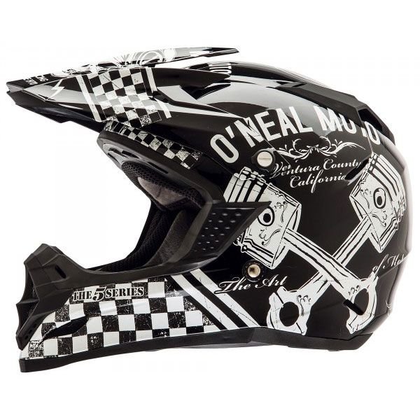 O'Neal Racing Youth 5 Series Off Road MX Helmets - Piston - Extreme Supply