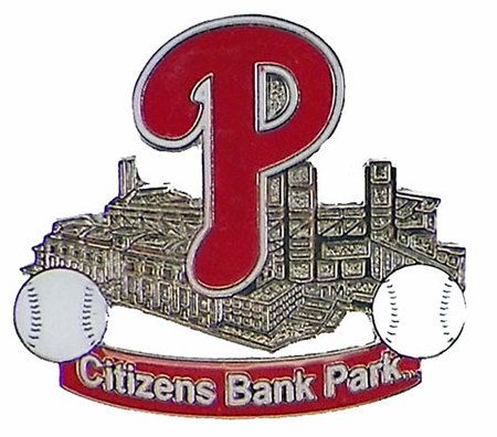 Philadelphia Phillies Stadium Pin/Citizens Bank Park Pin