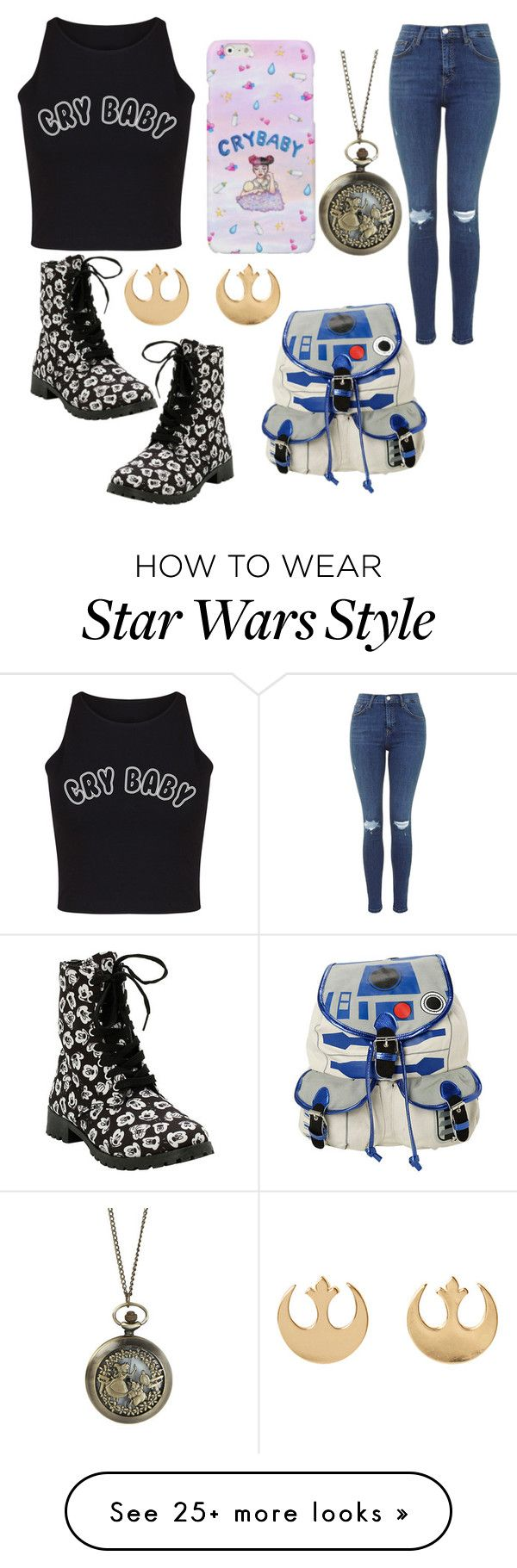 """""""day #1"""" by my-outfits-daily on Polyvore featuring Disney and R2"""