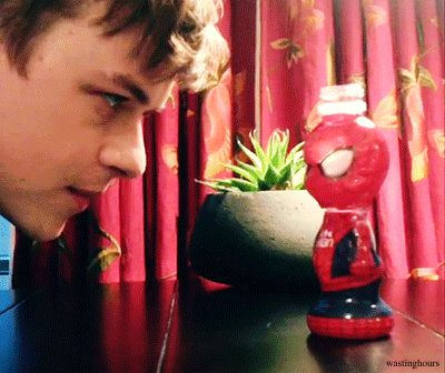 Dane DeHaan - You get him Dane!>>>>>>LOL<<< this is hilarious because he plays Harry Osborne who ends up trying to kill Spiderman.