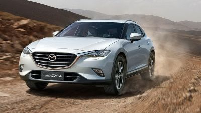 New Mazda CX-4 by drive.gr