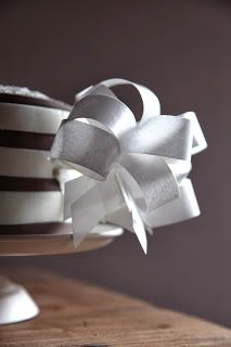 Wafer paper, Fiocco in cialda, Stripes Cake, Torta con fiocco