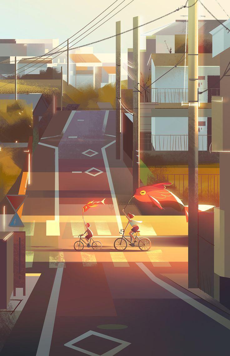 Stadtansichten im Auftrag – Kamille
