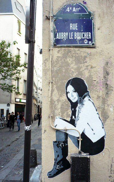 La rue Aubry-le-Boucher, en 1275 rue Albéric-le-Boucher (vicus Alberici-Carnificis) - Paris 4ème