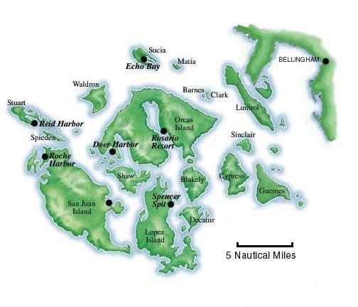 San Juan Islands near Bellingham  AgainI could kick myself for
