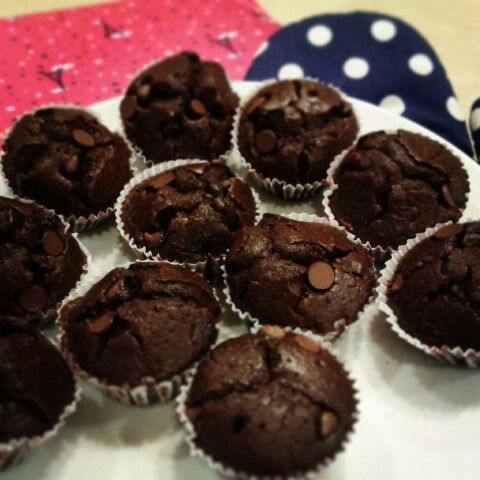 Taste amazing! #taste #amazing #try #chocolate #muffins #homemade