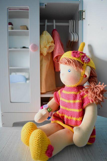 Lalki waldorfskie - LalaBella: Janka rusza w podróż