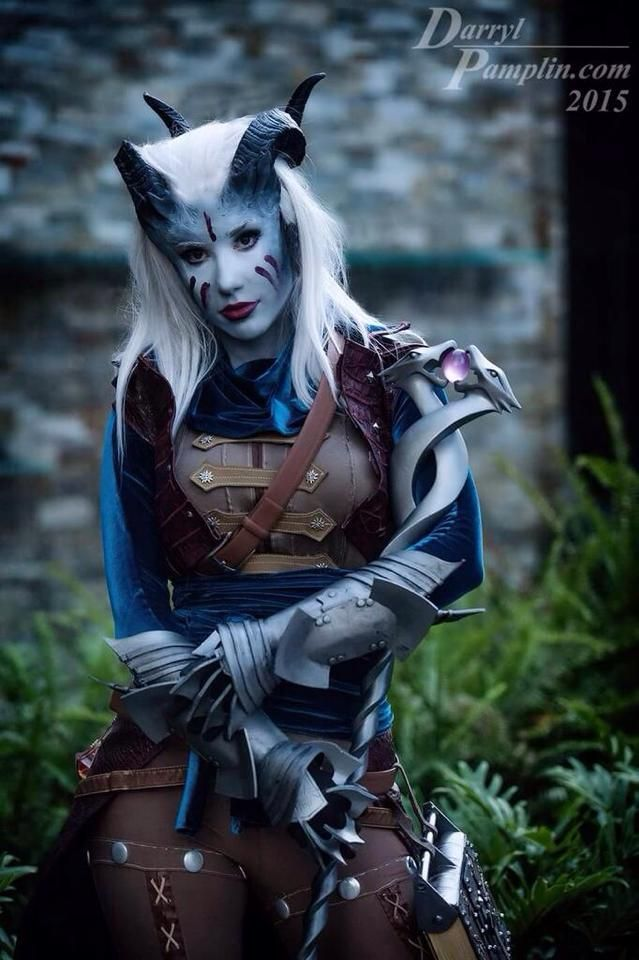 [Found] Crystal Graziano - Qunari Inquisitor (Dragon Age 3) - This is an automated post but if you want to read more Cosplay news checkout http://ift.tt/1dTOCQZ