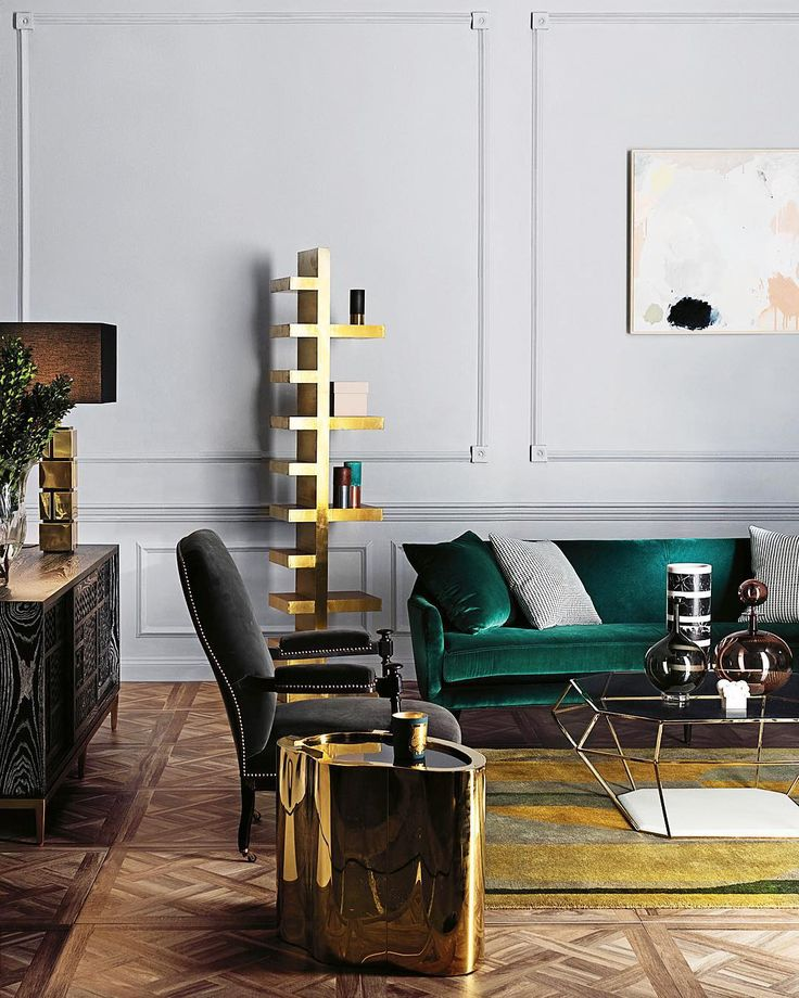There S Something So Incredibly Chic About Gold Décor And It Seems Many Of Our Favorite Interior Designers Have Been Decorating With The Midas Touch Too