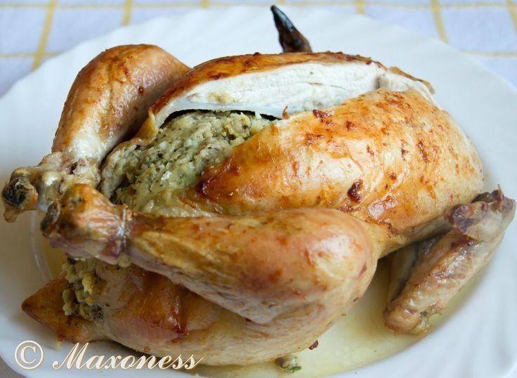 Курица, фаршированная по-трансильвански. Венгерская кухня