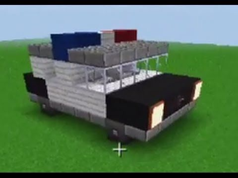 how to make a car in minecraft pc