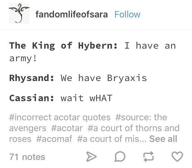 King Of Hybern Rhysand Cassian Sarah J Maas Books A Court Of
