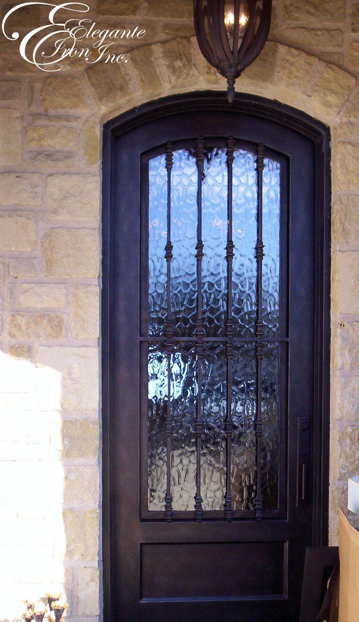 Best 25+ Iron front door ideas on Pinterest   Wrought iron ...