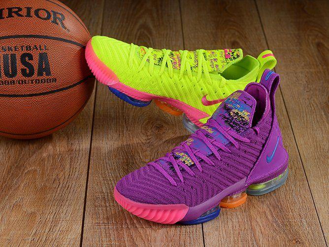 What The Nike LeBron 16 Volt Purple